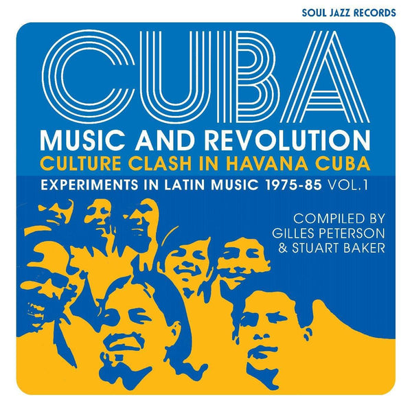 Soul Jazz Records Presents - CUBA: Music and Revolution: Culture Clash in Havana: Experiments in Latin Music 1975-85 Vol. 1 (2XCD) Soul Jazz Records