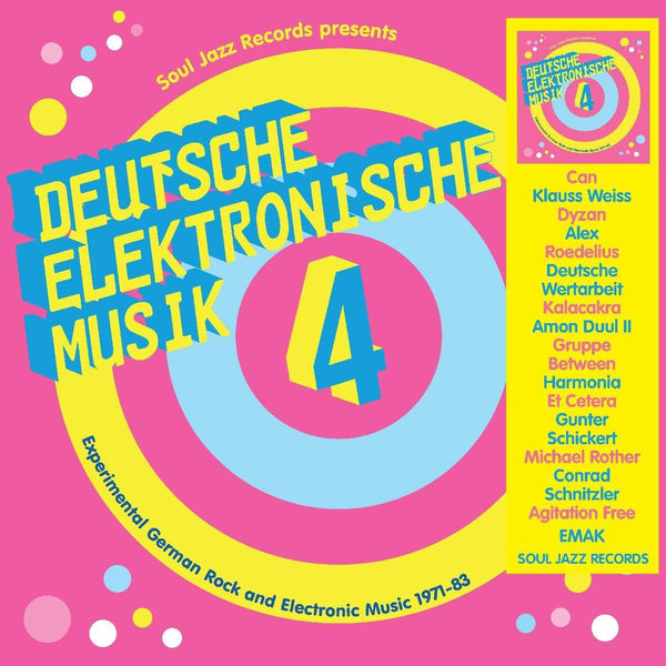 Soul Jazz Records Presents - DEUTSCHE ELEKTRONISCHE MUSIK 4 - Experimental German Rock and Electronic Music 1971-83 (3XLP) Soul Jazz Records