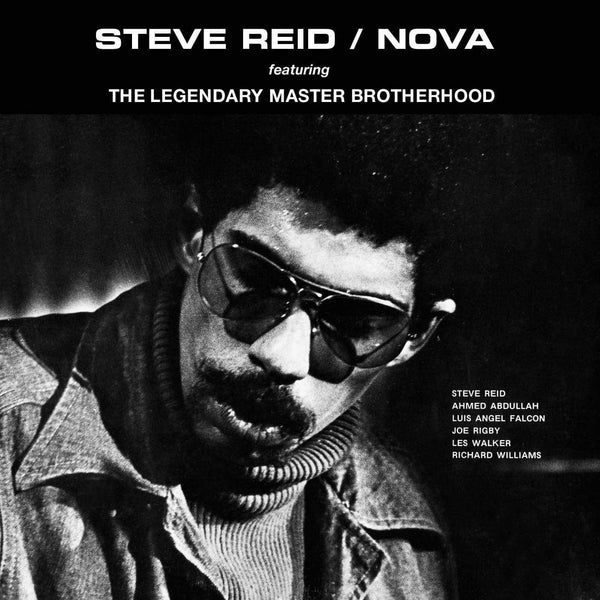 Steve Reid - Soul Jazz Records Presents STEVE REID: Nova (LP - Orange Vinyl + Download Card) Soul Jazz Records