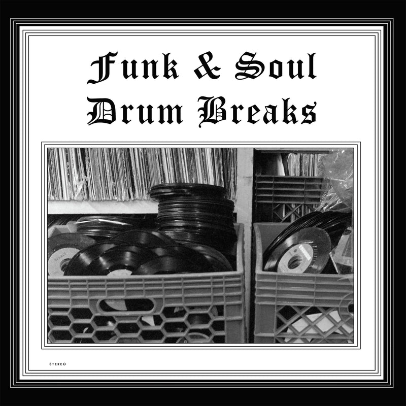 Various Artists - Funk & Soul Drum Breaks (LP) Soul To The Universe