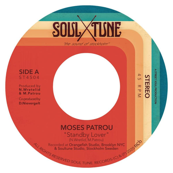 "Moses Patrou - Standby Lover b/w Good Enough (7"") Soul Tune Records"