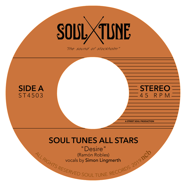 "Soul Tune Allstars - Desire b/w Messin around (7"") Soul Tune Records"