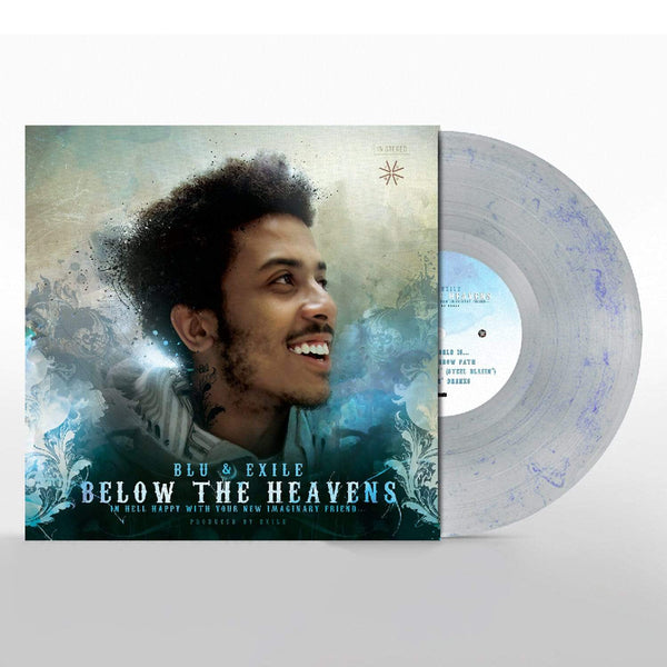 "Blu & Exile - Below The Heavens (2xLP - Blue Marble Vinyl + 7"") Sound In Color"