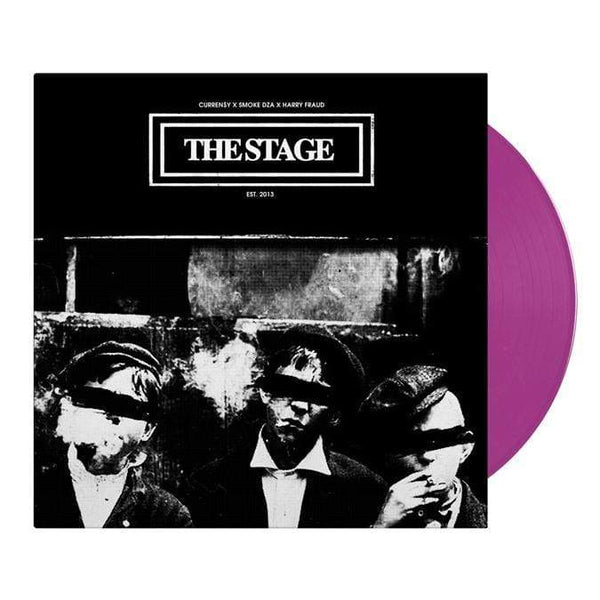 Curren$y, Smoke DZA & Harry Fraud - The Stage (LP - Purple Vinyl) SRFSCHL