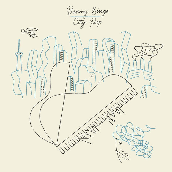 Benny Sings - City Pop (LP) Stones Throw