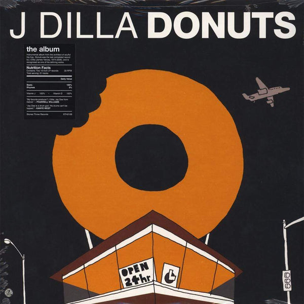 "J Dilla - Donuts (2xLP - ""Donut Shop"" Cover) Stones Throw"