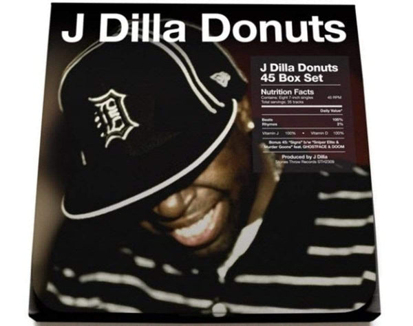 "J Dilla - Donuts 45 Box Set (8x7"" - Album + Bonus Tracks) Stones Throw"