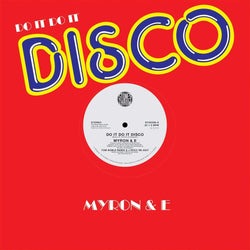 "Myron & E - Do It Do It Disco (12"") Stones Throw"