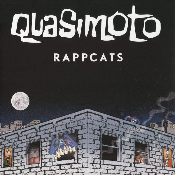 "Quasimoto - Bus Ride/Rappcats (12"") Stones Throw"