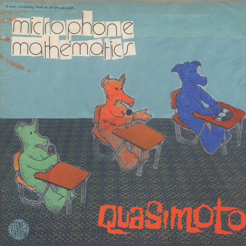 "Quasimoto - Microphone Mathematics (12"") Stones Throw"