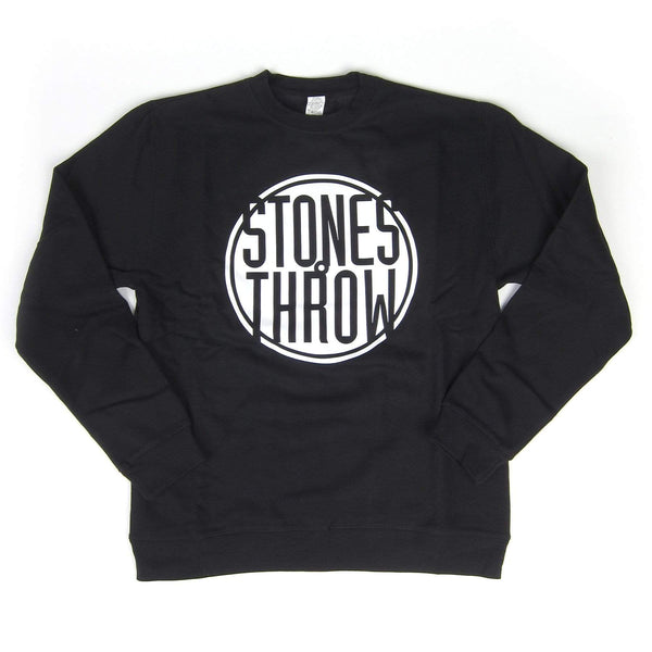 Stones Throw Classic Logo (Black Sweatshirt) Stones Throw