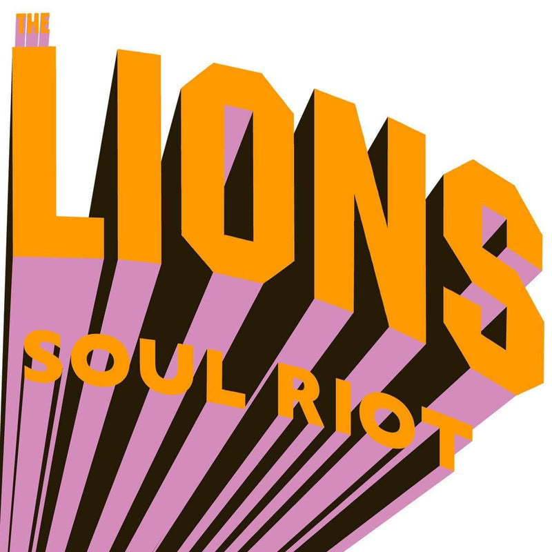 The Lions - Soul Riots (2xLP) Stones Throw