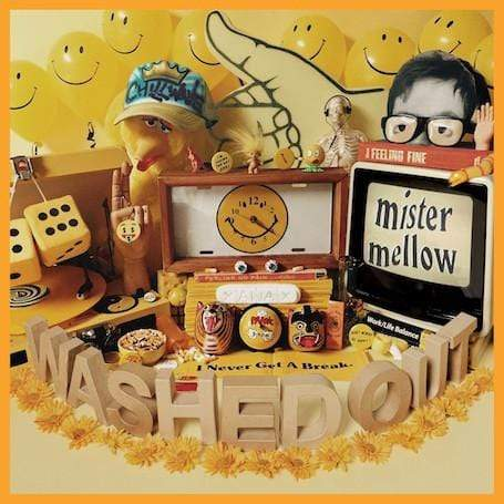 Washed Out - Mister Mellow (CD + DVD) Stones Throw