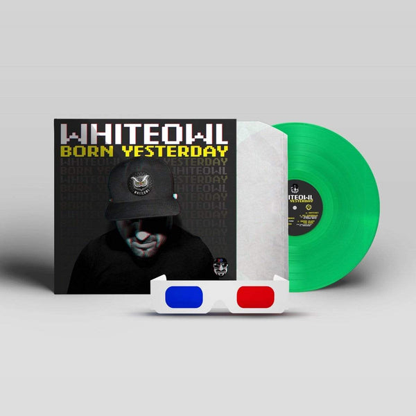 MC WhiteOwl - Born Yesterday (LP -  Green Vinyl) Straight Dope Records