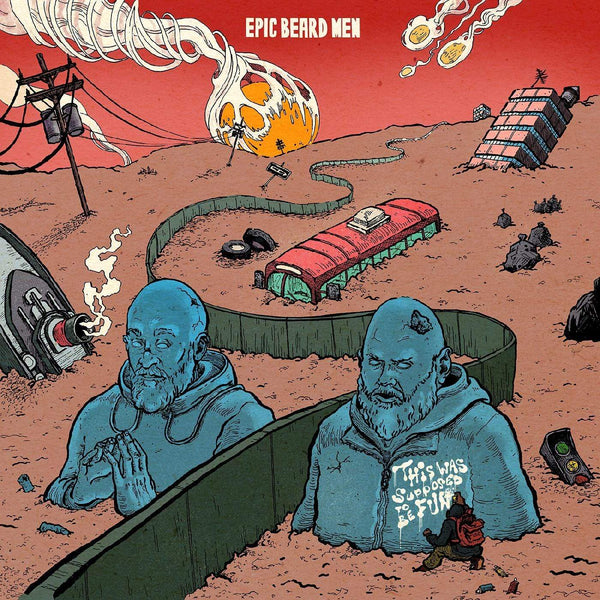 Epic Beard Men (Sage Francis & B. Dolan) - This Was Supposed To Be Fun (LP - Colored Vinyl) Strange Famous Records