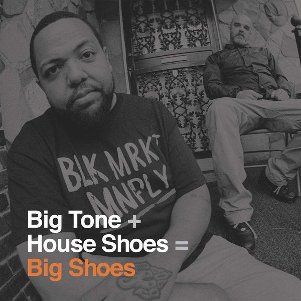 Big Tone + House Shoes - Big Shoes (2xLP) Street Corner Music