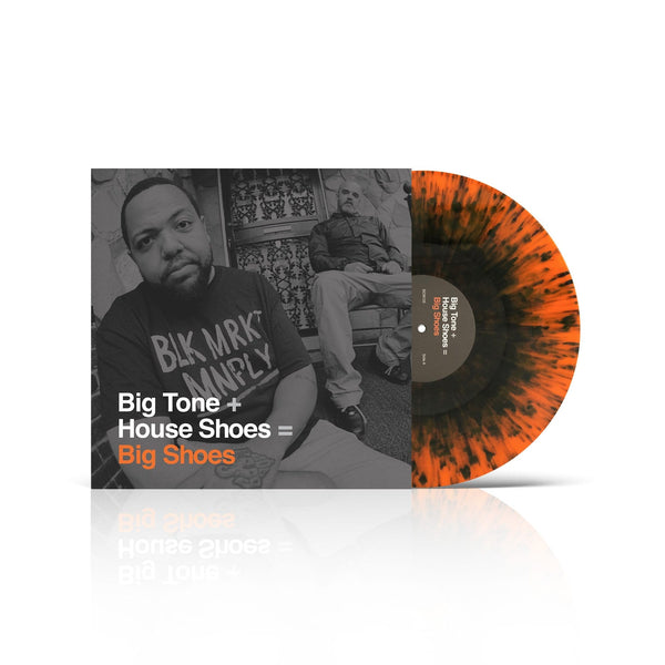 Big Tone + House Shoes - Big Shoes (2xLP - Orange/Black Splatter Vinyl - Fat Beats Exclusive) Street Corner Music