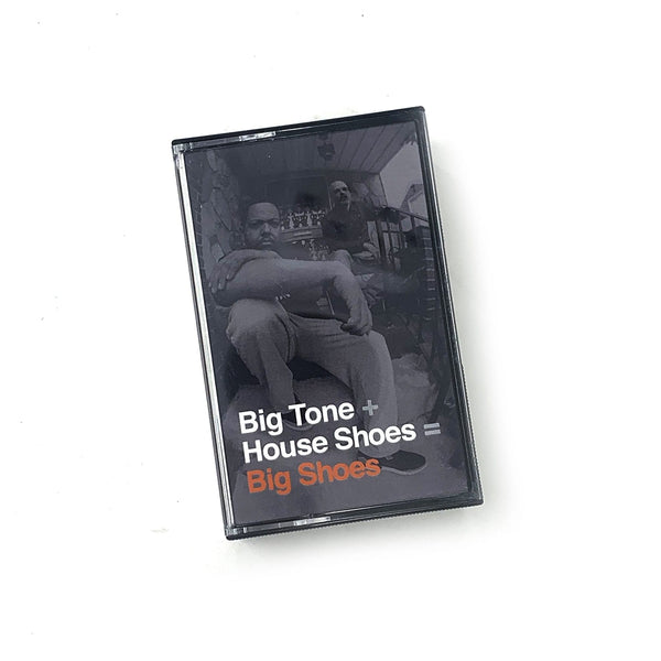 Big Tone + House Shoes - Big Shoes Cassette (2xCassette - Vocals + Instrumentals) Street Corner Music