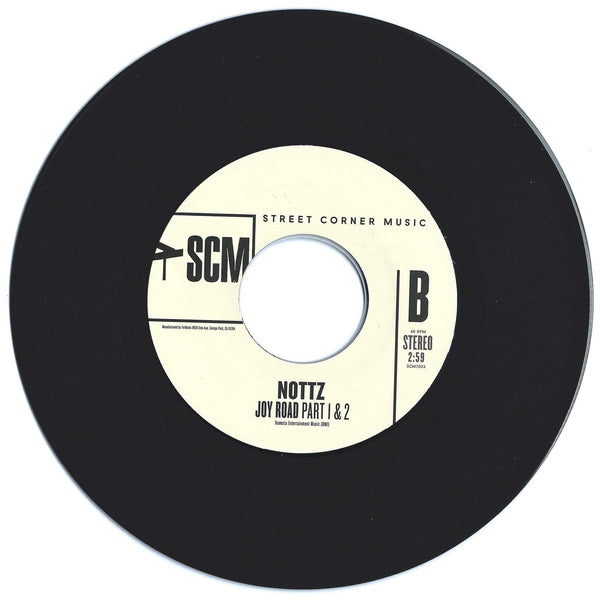 "Lyman Woodard Organization / Nottz - Joy Road (7"") Street Corner Music"