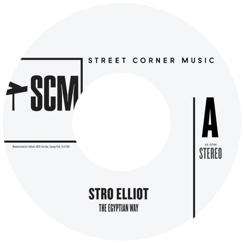 Stro Elliot - The Egyptian Way (Single)(Digital) Street Corner Music