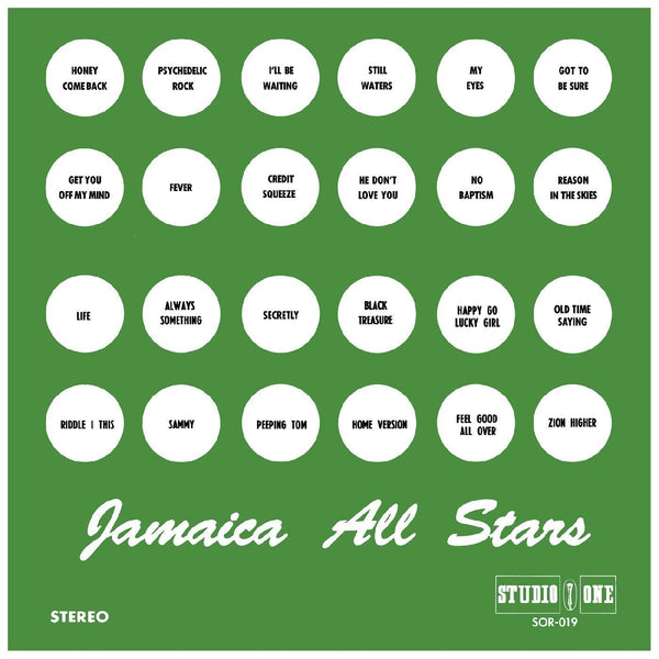 V/A - STUDIO ONE: Jamaica All Stars (2xLP) Studio One