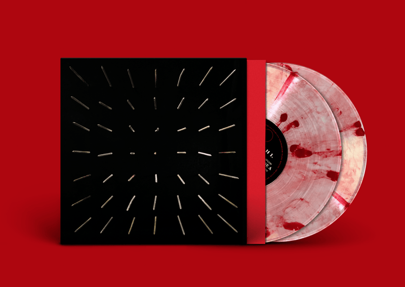Clipping. - There Existed an Addiction to Blood (2xLP - Limited Blood-Splatter Vinyl) Sub Pop