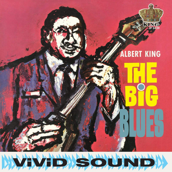 Albert King - The Big Blues (LP - Red Vinyl) Sundazed Music, Inc.