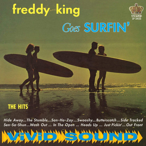 Freddy King - Freddy King Goes Surfin' (LP - Blue Vinyl) Sundazed Music, Inc.
