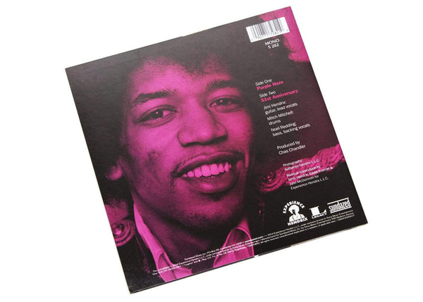 "Jimi Hendrix - Purple Haze b/w 51st Anniversary (7"") Sundazed Music, Inc."