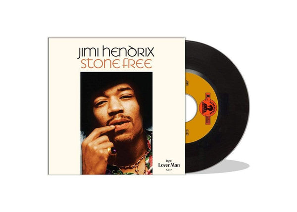 "Jimi Hendrix - Stone Free b/w Lover Man (7"") Sundazed Music, Inc."