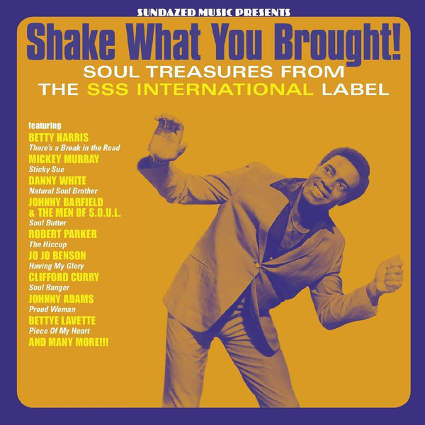 Various Artists - Shake What You Brought! Soul Treasures From The SSS International Label (LP - Gold Vinyl) Sundazed Music, Inc.