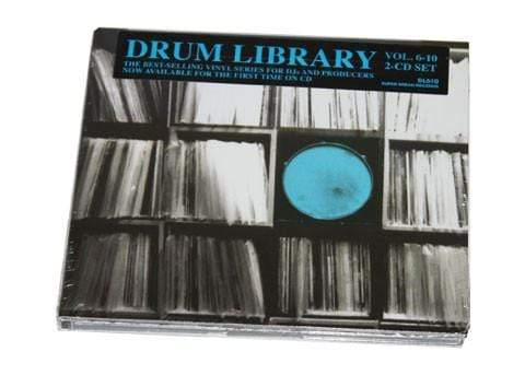 Paul Nice - Drum Library Vol 6-10 (2xCD) Super Break Records
