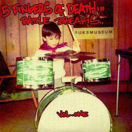Paul Nice - Five Fingers of Death Vol. 1 (LP) Super Break Records
