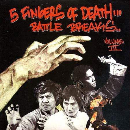 Paul Nice - Five Fingers of Death Vol. 3 (LP)(Digital) Super Break Records