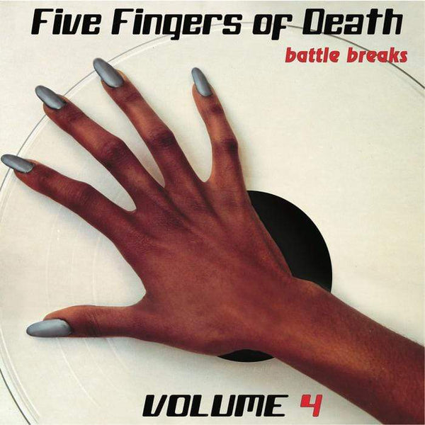 Paul Nice - Five Fingers of Death Vol. 4 (LP)(Digital) Super Break Records