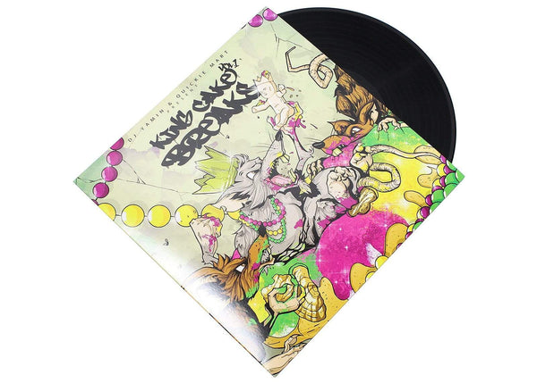DJ Yamin & Quickie Mart - King Cake Breaks, Vol. 1 (LP) Superjock Records