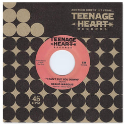 "Grand Marquis - I Can't Put you Down b/w I'll Never Be Satisfied (7"") Teenage Heart Records"