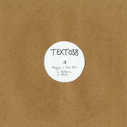 "Designer & Four Tet - Mothers/Dark (12"") Text Records"