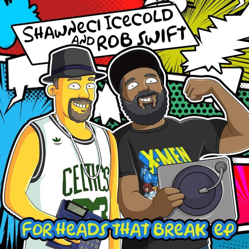 Shawneci Icecold & Rob Swift - For Heads That Break (Digital) The Ablist Recordings