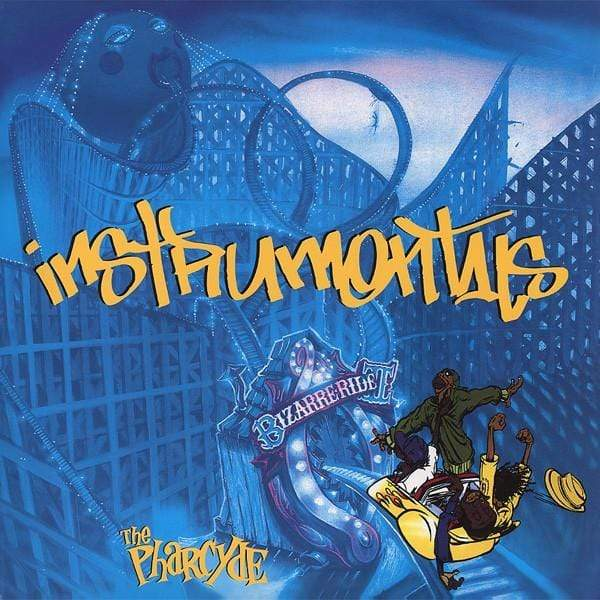 The Pharcyde - Bizarre Ride II The Pharcyde Instrumentals (LP) The Bicycle Music Company