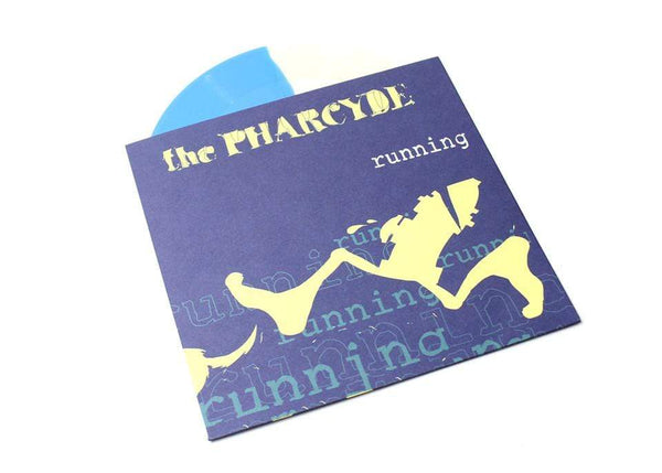 "The Pharcyde - Runnin' (7"" - Blue/Clear Vinyl) The Bicycle Music Company"