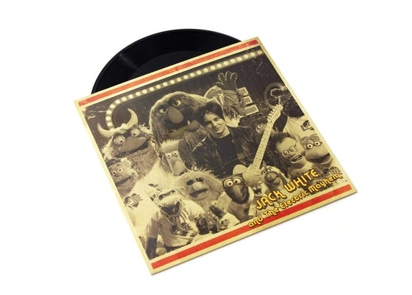 "Jack White & The Muppets - You Are The Sunshine Of My Life (7"" - Black Vinyl) Third Man Records"