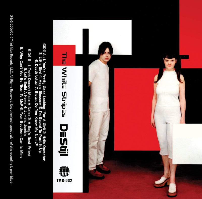 The White Stripes - De Stijl (Cassette - White) Third Man Records