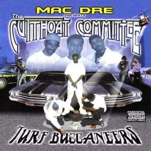 Mac Dre & Tha Cutthoat Committee - Turf Buccaneers (Cassette) Thizz Entertainment