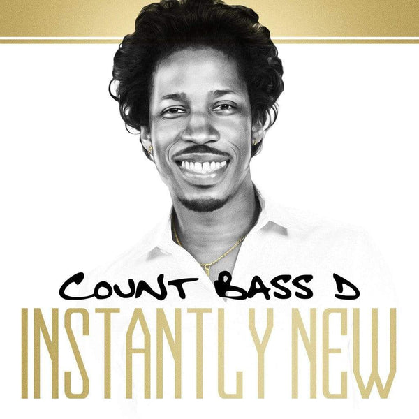 Count Bass D - Instantly New (2xCassette - Includes Instrumentals) Thrash Flow