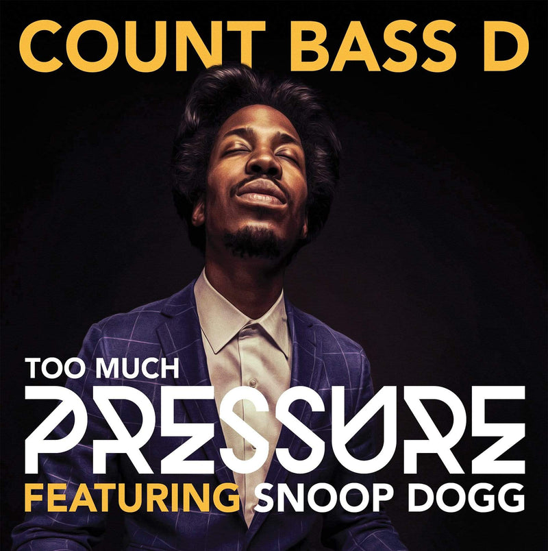 "Count Bass D - Too Much Pressure (feat. Snoop Dogg) (12"" Maxisingle) Thrash Flow"