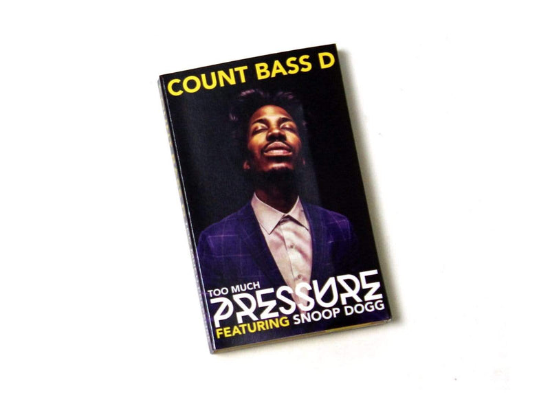 Count Bass D - Too Much Pressure (feat. Snoop Dogg) (Cassette) Thrash Flow