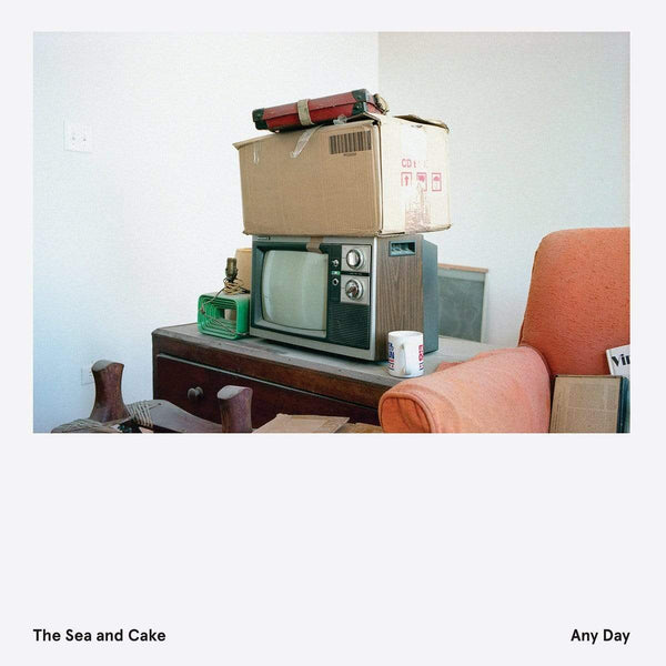 The Sea And Cake - Any Day (LP - Indie-Exclusive Seaglass Vinyl) Thrill Jockey Records