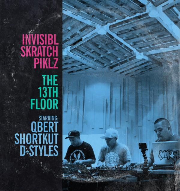 Invisibl Skratch Piklz -The 13th Floor (2xLP - Colored Vinyl) Thud Rumble