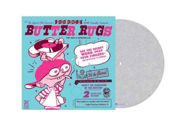 "Thud Rumble - Butter Rugs (2x7"" Slipmat) Thud Rumble"